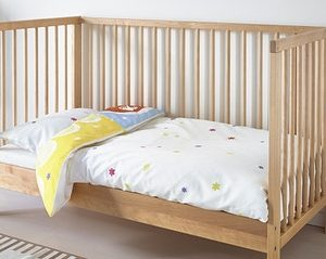 Cot Converted Bed Mattress and fitted sheet